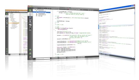 3  Qt Creator IDE — Qt5 Cadaques Book vmaster